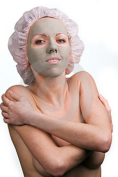 Facial Mask Royalty Free Stock Images - Image: 8557979