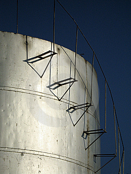 Fuel Storage Tank Stock Photography - Image: 8558722