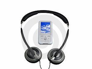 Hören Sie Musik Stockfotos - Bild: 8559473