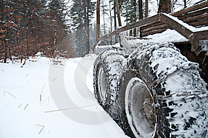 Frozen Chains. Royalty Free Stock Image - Image: 8559606