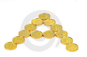 Gold Coin Stock Photography - Image: 8560052