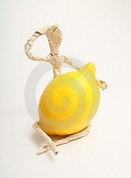 Document Mens Met Fruit Stock Fotografie - Afbeelding: 8560082