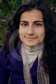 A Woman's Portrait Stock Image - Image: 8560151
