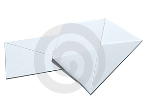 Two Envelopes Royalty Free Stock Photos - Image: 8560308