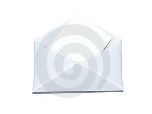 White Envelope Royalty Free Stock Photo - Image: 8560375