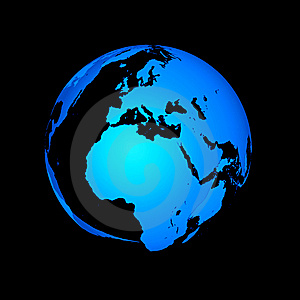 Abstract Globe Royalty Free Stock Photo - Image: 8560635