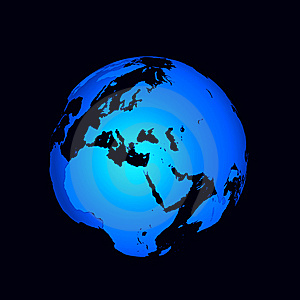 Abstract Globe Royalty Free Stock Image - Image: 8560676