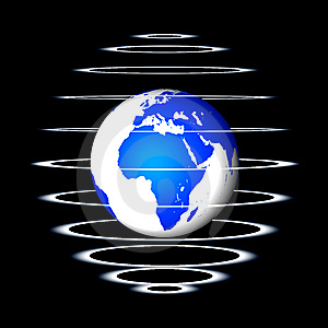 Abstract Globe Royalty Free Stock Photography - Image: 8560737