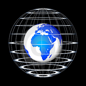 Abstract Globe Stock Photography - Image: 8560902