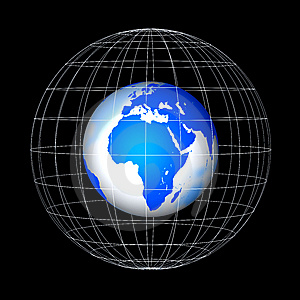 Abstract Globe Stock Photos - Image: 8560973