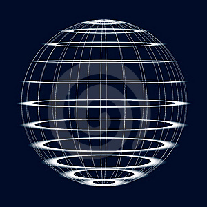 Abstract Globe Royalty Free Stock Image - Image: 8561026