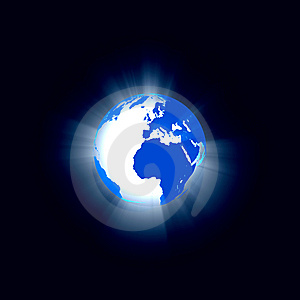 Abstract Globe Royalty Free Stock Photos - Image: 8561268