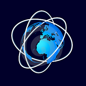 Abstract Globe Royalty Free Stock Photo - Image: 8561375