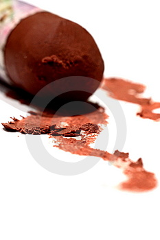Chocolate Crayon 2 Stock Photos - Image: 8561993