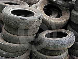Old Tires Background Stock Photo - Image: 8562050
