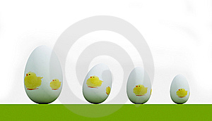Easter Eggs Royalty Free Stock Images - Image: 8562189