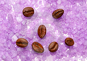 Physiognomy From Coffee Grains. Stock Image - Image: 8562981