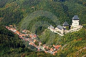 Castle Karlstejn. Czech Republic Stock Image - Image: 8564131
