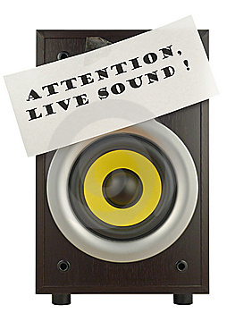 Loud Speaker Royalty Free Stock Photography - Image: 8564757