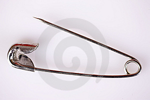Safety Pin Stock Image - Image: 8564831