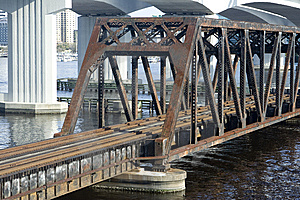 Rail Road Bridge Royalty Free Stock Photos - Image: 8565028