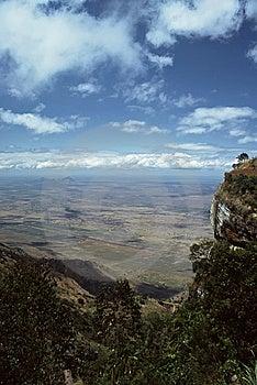 View Into Plains,Tanzania Royalty Free Stock Photography - Image: 8565547