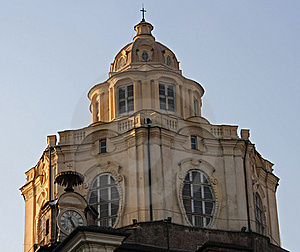 San Lorenzo Dome Stock Photography - Image: 8565882