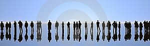 Silhouette Royalty Free Stock Photo - Image: 8566015