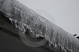 Diagonal Icicles Stock Images - Image: 8566274
