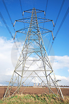 Electricity Supply Stock Photo - Image: 8566780