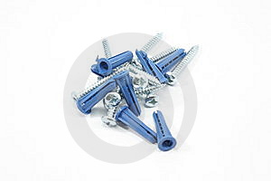 Screws And Wall Anchors Stock Photos - Image: 8567543