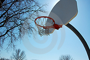 Basketball Hoop Royalty Free Stock Photo - Image: 8567755