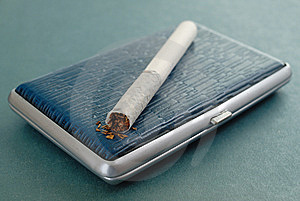 Russian Cigarette Stock Image - Image: 8567811