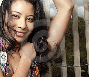 Woman Smiling Royalty Free Stock Photography - Image: 8568407