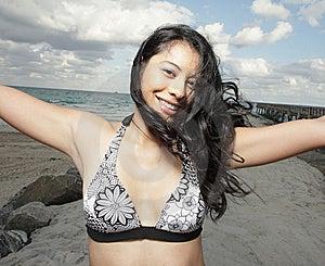 Beautiful Young Woman Stock Image - Image: 8568481