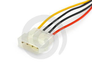 Power Computer Cable Royalty Free Stock Photos - Image: 8568568