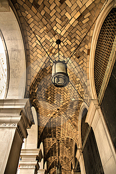 Cathedral Stone Brick Arches Stock Photography - Image: 8569342