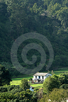 Solitary House Stock Images - Image: 8569444