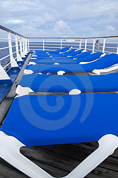 Blue Chairs Stock Image - Image: 8569771