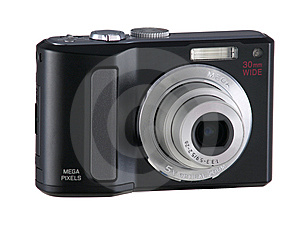 Point & Shoot Digital Camera Zoom Royalty Free Stock Image - Image: 8569876