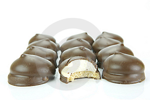 Marshmallow Biscuits Stock Photo - Image: 8570110