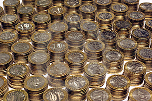 Coins Royalty Free Stock Photo - Image: 8570235
