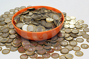 Coins Stock Images - Image: 8570334