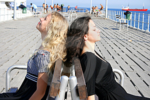 Pretty Girls Stock Image - Image: 8570741