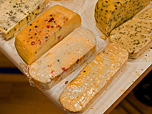Variety Of Different Cheese Products Royalty Free Stock Photos - Image: 8570978