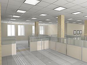 Office Interior Royalty Free Stock Images - Image: 8571269