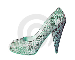 Blue Shoe Royalty Free Stock Images - Image: 8572269