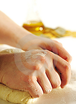 Dough Preparation Royalty Free Stock Photo - Image: 8572305