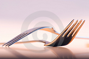 Forks Royalty Free Stock Image - Image: 8572876