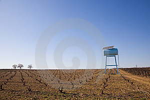 Ecological Water Tank Royalty Free Stock Photo - Image: 8573125